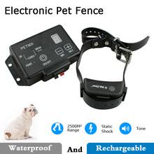 Electric Dog E-Collar Shock Wireless Dog Underground Fence with Progressive Warning Tone