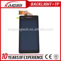 Caliente producto de la venta de teléfonos chinos piezas de repuesto para sony xperia lt25i v, 4.3 pulgadas lcd pequeñas, de repuesto teléfono celular chino