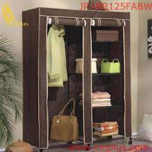 JP-WR125FABW Hot Sale Customized Decorative Laminate Wardrobes