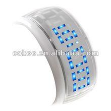 Bracelet Design Futuristic Blue LED Wrist Watch