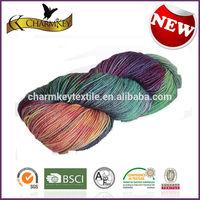 Free samples Free shipping cotton nylon blend yarn for knitting