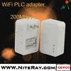 Network powerline wireless power ethernet adaptor