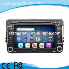2 din kapasitif android araba dvd gps navi vw volkswagen jetta Passart