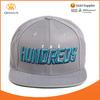 New Style Gray Custom Design Wholesale Cheap Snapback Custom