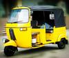 2015 good quality model gasoline three- row Bajaj three wheel motorcycle tricycle