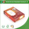 2014 custom small product tea bags paper packaging box