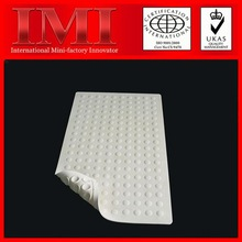 Hot ISO9001 14001 RoHS Certificate Custom Printed Natural PVC eco-friendly non skid bath mat
