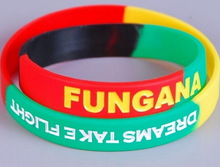 fashion most popular bracelet/silicone wrist band with customized colorful for kids