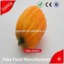 Hot sale Top quality artificial pumpkins for sale / OEM craft wholesale fake pumpkins