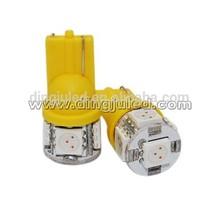 5smd T10 car illumination led bulb dingju light bulb samsung 5630 can bus