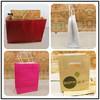 Rectangular & trapezium shaped apparel packaging paper bag