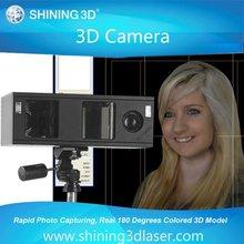 3D camera for 3D portrait shooting