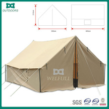 Outdoor iron frame bell camping tent