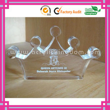 popular crwon shaped clear solid paperweight acrylic blocks crafts manufacturer