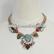2014 Fashion jewelry statement necklace, fashion accessory beauty product