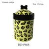 Ceramic pet treat jars porcelain dog food storage