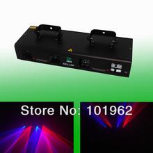 Brand new Quad 600mW Red&Blue 2 Color home laser light show