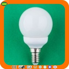 2014 factory ISO UL CE LVD EMC RoHS SASO AK approved E14 globe fluorescent cfl energy saving lamp price tube light