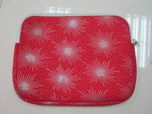 """2014 Beauty red 3mm neoprene laptop cover14"""""""
