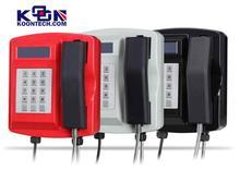 Waterproof phone KNSP-18 Security Telephones Wall Units integrate Firewall
