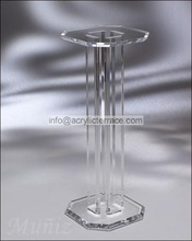 transparent acrylic floor flower stand for wedding event art decorations 2081405202