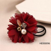 wholesale fashion cute baby girls flower hair clips