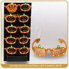 Halloween pumpkin led light up glasses for decoration