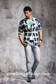 Nouveau design de haute qualité élastique à la taille des jeans pour hommes jeans 100% coton denim pour hommes gros jeans bas prix usine( pm012)