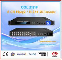 Encoder /IPTV Cable tv Digital headend/Encoder mpeg2 and h.264 COL5181F