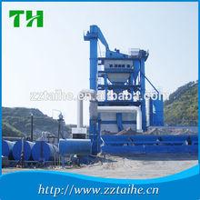 Road construction machinery LB800 asphalt mixing plant, automatic mobile asphalt concrete mixer