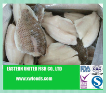 Dried frozen IQF raw Tilapia fish