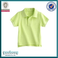kid clothes new style children's polo tee shirts with custom logo