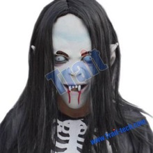 Blooding Witch Hair Mask for Halloween Costume Party
