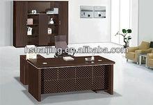 2013 new hot sale luxury office computer furniture wooden computer desk parts/melamine children computer desk design M6544