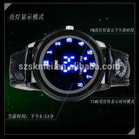 2014 fashion watch led watch touch