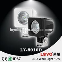 led work light offroad led semi truck lights 10W 12v truck lights