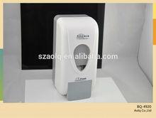 o único dispensador de sabão líquido manual recarregáveis espuma distribuidor do sabão da mão dispensador de sabão do molde