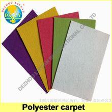 Nonwoven carpet for wedding, office, corridor