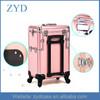 Fancy Aluminum Rolling Cosmetic Case, Girls Trolley Case ZYD-HZMcbc003