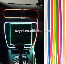EL Wire LED Flexible Neon Light Glow Rope Tube Car decorative light