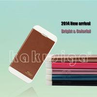 Kakusiga professional flip leather for samsung s4 folding case