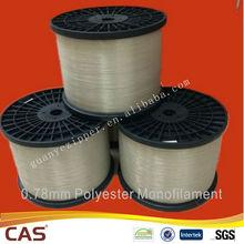 0.78mm for Black Nylon Teeth Polyester Monofilament Yarn