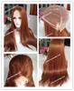 2014 new styles silk straight 22 inches stock medium brown light human hair wigs