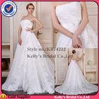 Latest fashion design long train whole lace ribbon belt wedding dresses elie saab