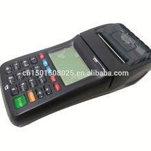 Mejor display LCD de alto rendimiento de débito tarjeta magnética pos terminal