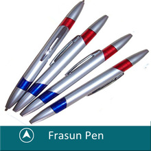 Hot Sale Two Side Refill Twist Function Dual Balll Pen