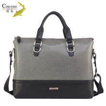 New arrival high quality stylish cowhide travel man messenger bags