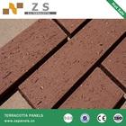 Terracotta Terra Cotta split tile brick tiles bricks Architecture glazed coating porcelain tile CHINA finishing decoration
