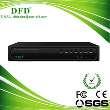 8CH H.264 Real-time Network Standalone DVR, Supports Audio and Alarm, VGA, USB2.0, DVD-RW, 64CH CMS