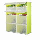 New Assemble DIY Pink Color Livingroom Furniture Shoe Rack Storage